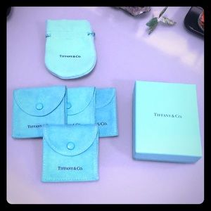 Tiffany & Co. Jewelry pouches
